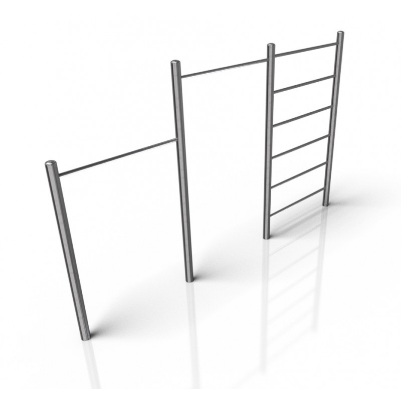 CE 24 Rack double and climbing bar
