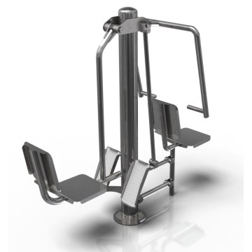 CE 0419 - Leg press and pull down chair