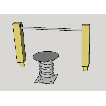 Waist movement spring