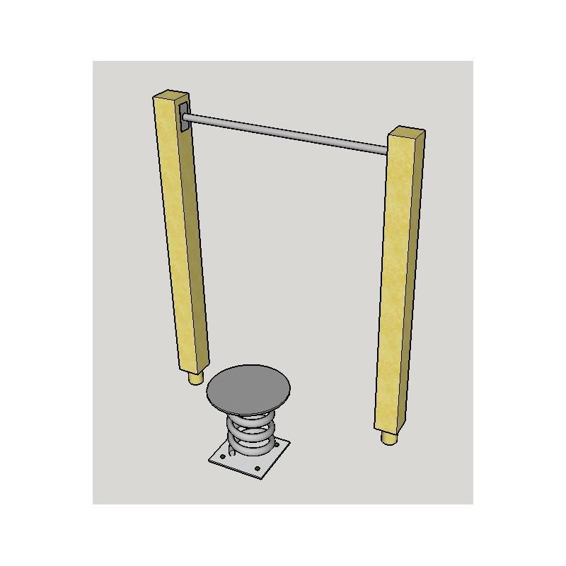 Balancing sping, standing