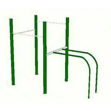 Simple stand with parallel bars